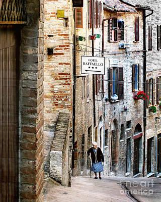 Lady In Urbino Poster by Jennie Breeze