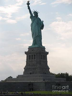 Poster featuring the photograph Lady Liberty by Luther Fine Art
