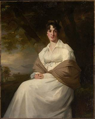 Lady Maitland Catherine Connor, Died Poster by Sir Henry Raeburn