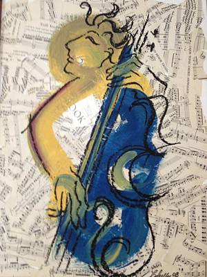 Lady Plays The Blues Poster