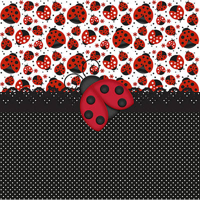 Ladybug Mood  Poster
