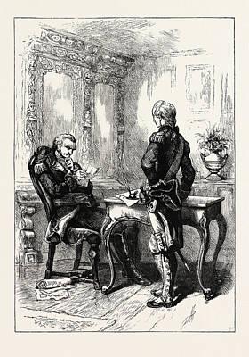 Lafayette And Washington, United States Of America Poster