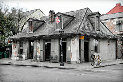 Lafitte's Blacksmith Shop Poster by Lynn Jordan