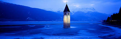 Lago Di Resia Church, Tyrol, Italy Poster by Panoramic Images