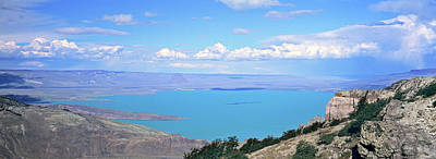 Lago  San Martin, Patagonia, Argentina Poster