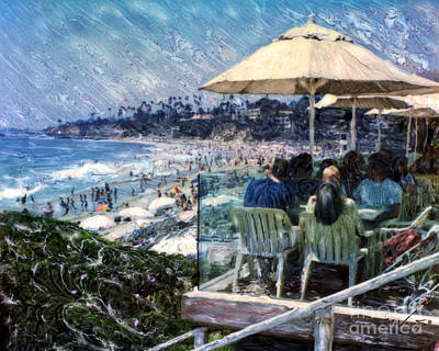 Laguna Beach Hotel Afternoon Poster
