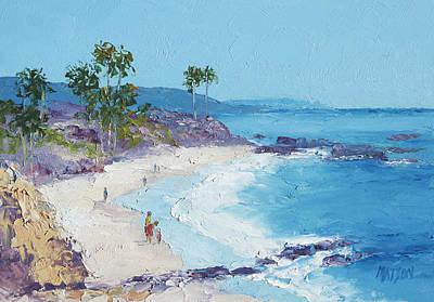 Laguna Beach Poster by Jan Matson