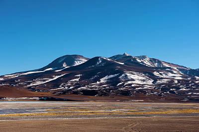 Laguna Tuyajto, Atacama Desert, Chile Poster by Sergio Pitamitz