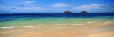 Lainki Beach, Oahu, Hawaii, Usa Poster by Panoramic Images
