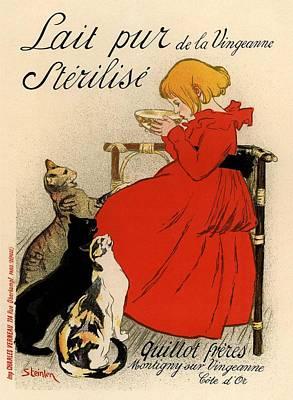 Lait Pur De La Vingeanne Sterilise Poster by Gianfranco Weiss