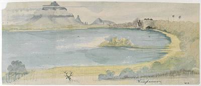 Lake At Champaneer Poster