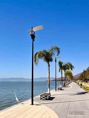 Poster featuring the photograph Lake Chapala - Mexico by David Perry Lawrence