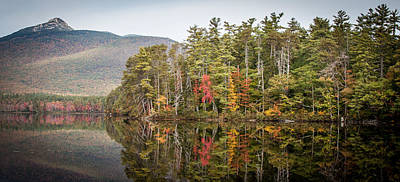 Lake Chocorua Reflection Poster