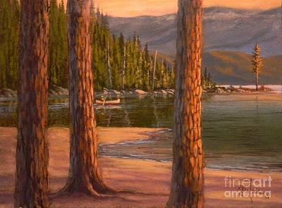 Lake Cruise Poster