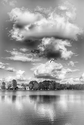 Lake De Soto Poster by Howard Salmon