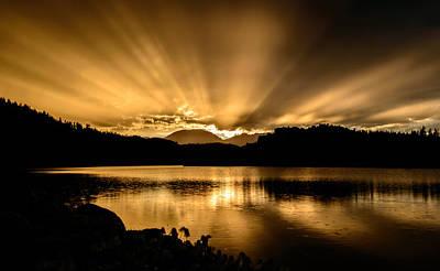 Lake Dillon Sunset Poster