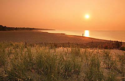 Lake Erie Sunset Poster