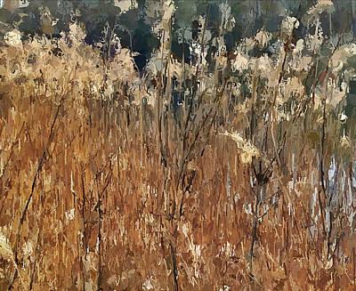 Lake Grass Poster by Yury Malkov