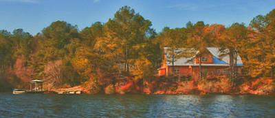 Lake House Poster by Brenda Bryant