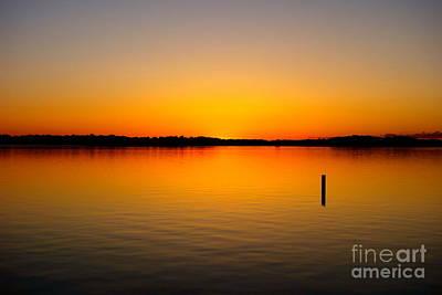 Lake Independence Sunset Poster