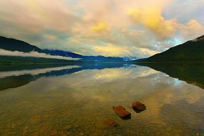 Poster featuring the photograph Lake Kaniere New Zealand by Amanda Stadther