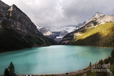 Lake Louise Panorama Poster by Yuri Santin