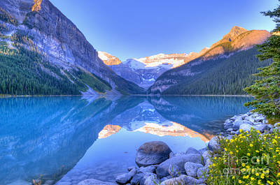 Poster featuring the photograph Lake Louise by Wanda Krack