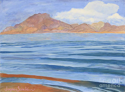 Lake Mead Poster by Jayne Schelden