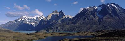 Lake Nordenskjold In Torres Del Paine Poster