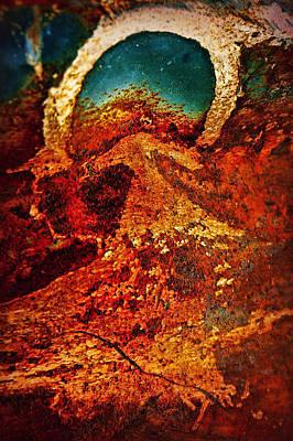 Lake Of Lava Poster