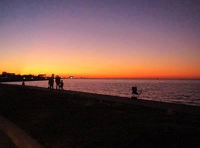 Lake Pontchartrain Sunset Poster