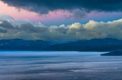 Lake Tahoe Daybreak Poster by Marc Crumpler