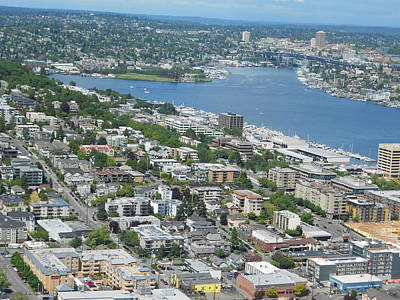 Lake Union Panorama Poster
