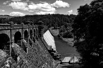 Poster featuring the photograph Lake Vyrnwy Resevoir by Stephen Taylor
