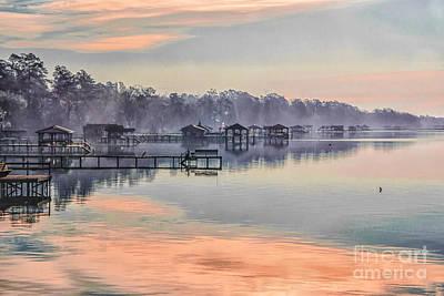 Lake Waccamaw Morning Poster