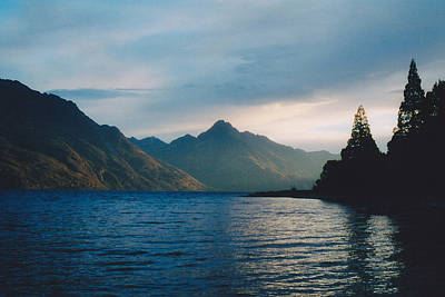 Lake Wakatipu Poster by Jon Emery