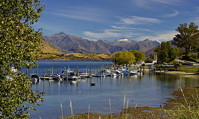 Beautiful Lake Wanaka New Zealand Poster by Venetia Featherstone-Witty