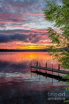 Lake Winnisquam Sunrise 2 Poster