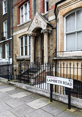 Poster featuring the photograph Lambeth Road by Ross Henton