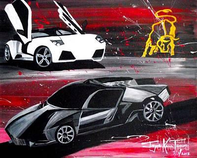 Lamborghini Leverage Poster