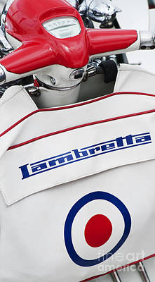 Lambretta Style Poster by Tim Gainey