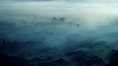 Land Of Fog Poster by Rudi Gunawan