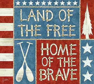 Land Of The Free Lodge Poster