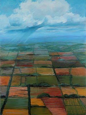 Land Use Poster by Art Nomad Sandra  Hansen