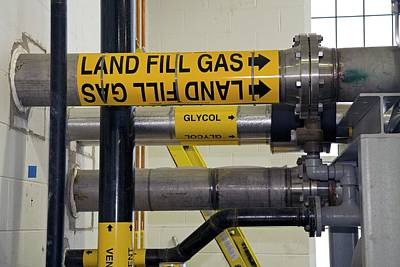 Landfill Gas Generating Electricity Poster