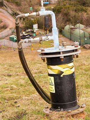 Landfill Gas Recovery Well Poster by Ashley Cooper