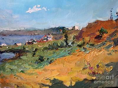 Landscape. Berdyansk Poster