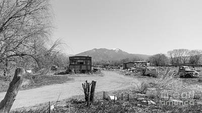 Landscape C10p Taos Nm Poster