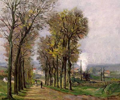 Landscape In The Ile De France Poster