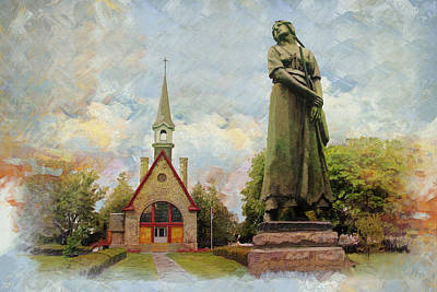 Landscape Of Grand Pre Poster by Catf